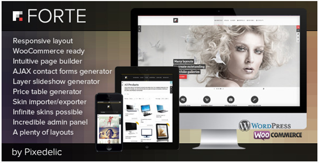 template pago wordpress forte