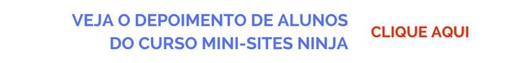 DEPOIMENTOS DOS ALUNOS MINI-SITES NINJA