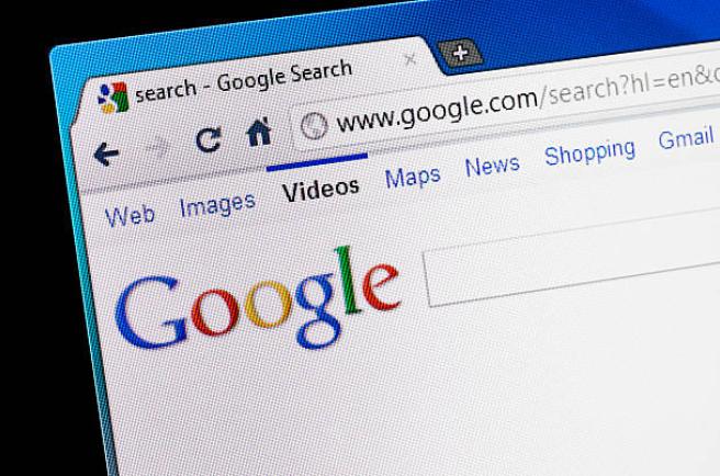 Primeira Página do Google