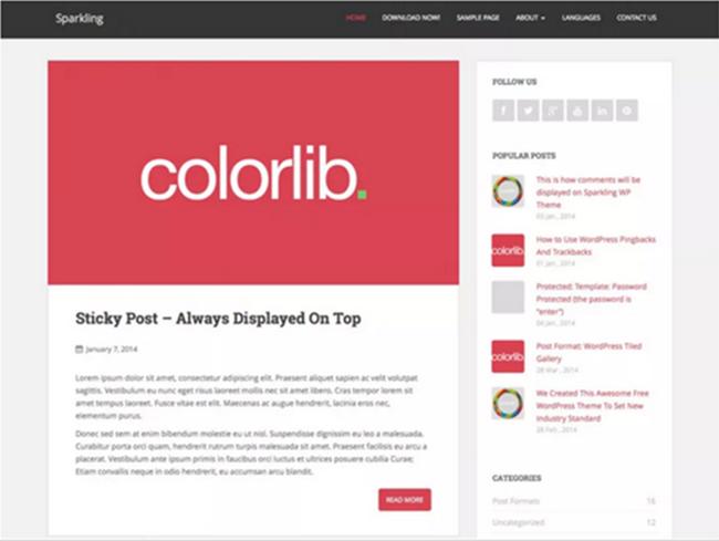 10 Melhores Temas Gratuitos WordPress