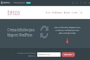 Tema Épico Wordpress